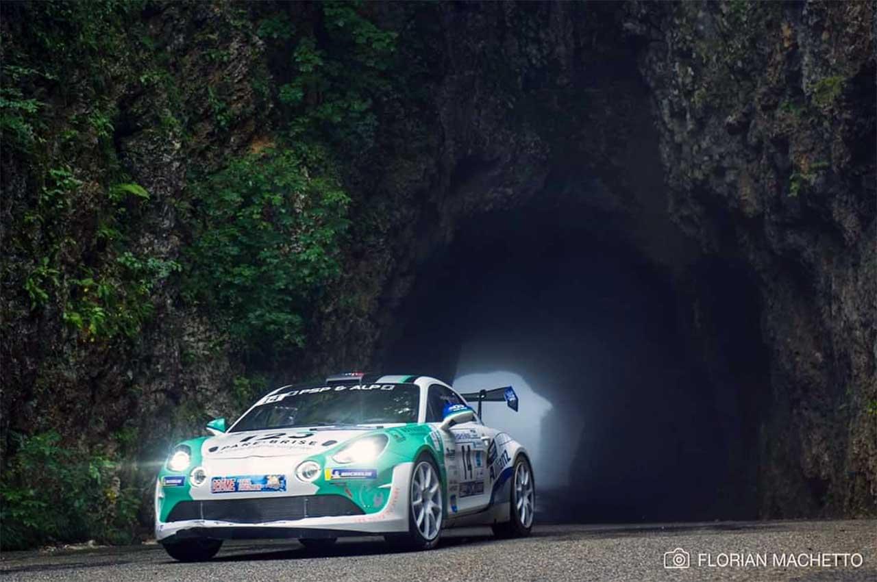 Raphaêl MARRY et Alexis MAGAND sur Alpine RGT au rallye de la Drôme 2021