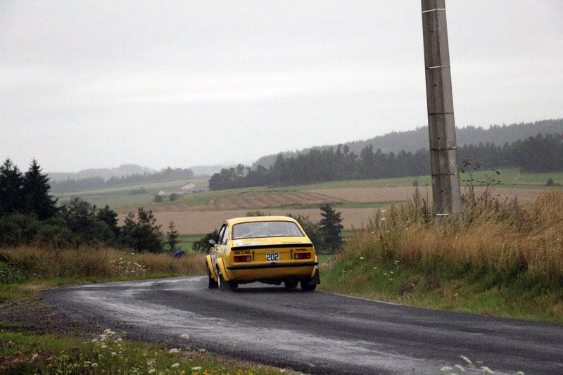 Pour les Volay, 1er au scratch VHC du rallye du val d'Ance 2021